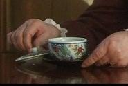 シャブリの気になったもの-おばあ様のお茶