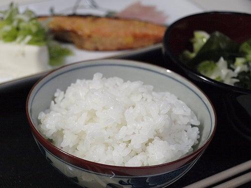 $Michi-kusa-レミパン(平野レミプロデュース)でご飯を炊く
