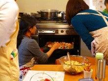 $旬菜料理家 伯母直美  野菜の収穫体験ができる料理教室 暮らしのRecipe-作業オーブン