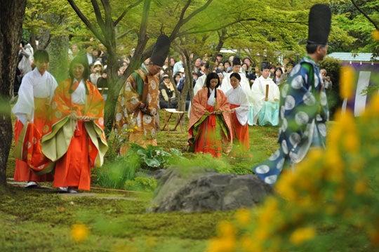 そうだった、京都に行こう-曲水の宴5