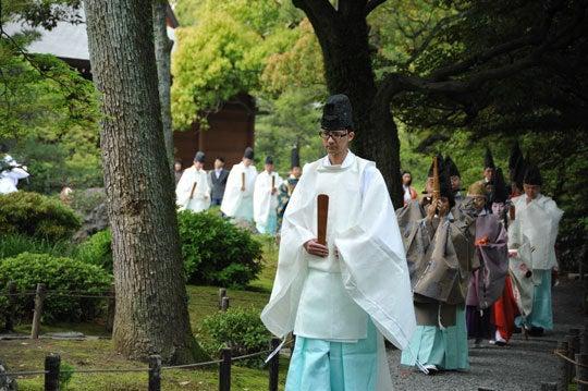 そうだった、京都に行こう-曲水の宴1