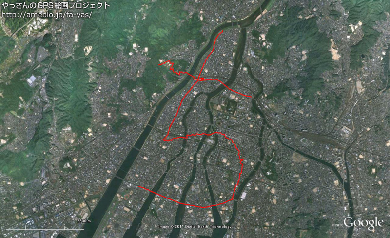 GPS Drawing--110430