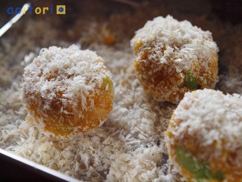 アオイトリ食堂-焼きコロッケ