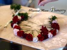 Plumerry(プルメリー)プリザーブドフラワースクール (千葉・浦安校)-手作りウエヒング 髪飾り