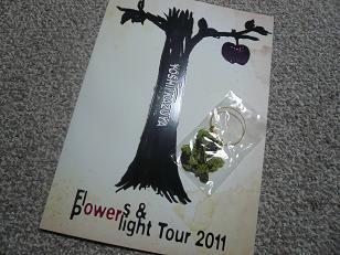 くみんの好きなこと♪-くみんのFlowers&Powerlight Tour 2011zeep東京
