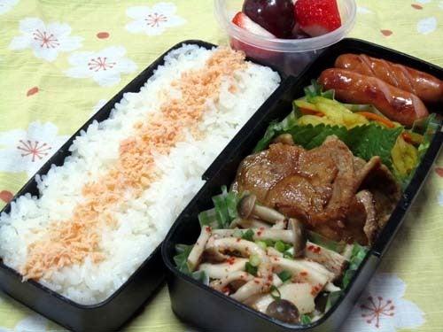 韓国料理サランヘヨ♪ I Love Korean Food-きのこのピリ辛ナムル