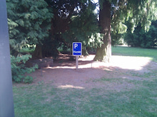 まえだのプログレッシブドイツ生活-0423 hundeparkplatz