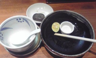 つけ麺 食べ歩き-みさわ2空き椀