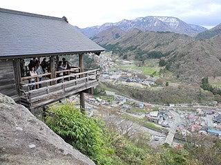 晴れのち曇り時々Ameブロ-五大堂(立石寺)