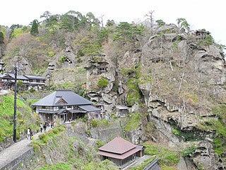 晴れのち曇り時々Ameブロ-奇岩群(山寺)
