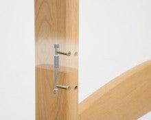 木工所のブログ-2段ベッド グラツキ 防止