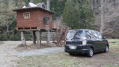 初めてのオートキャンプ!子供と一緒にキャンプに行こう!-朝のツリーハウス