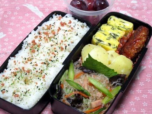 韓国料理サランヘヨ♪ I Love Korean Food-スパムと野菜のチャプチェ