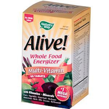 Cherryママのいろいろ日記-Nature's Way, Alive!, Multi-Vitamin, No Iron Add