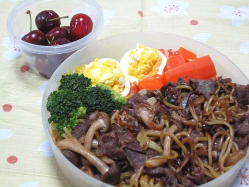 韓国料理サランヘヨ♪ I Love Korean Food-ヤンニョム焼きそば