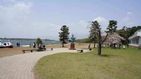 初めてのオートキャンプ!子供と一緒にキャンプに行こう!-5月4日の志田浜