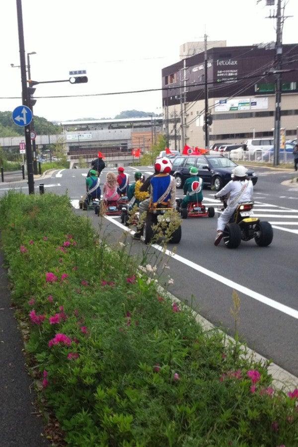 $笑える.com-リアルマリオカート