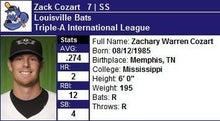 nash69のMLBトレーディングカード開封結果と野球観戦報告-zackcozart
