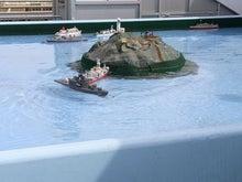 夏野のブログ-ラジコン船③