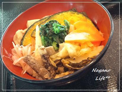Nagano Life**-十色野菜のヘルシーどんぶり