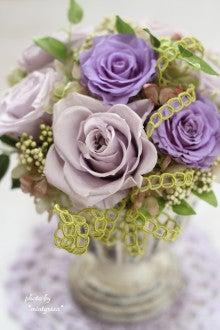 $いわき市プリザーブドフラワーアレンジ教室主宰者*mintgreen*の花ブログ~お花を通じて笑顔をお届けしたい