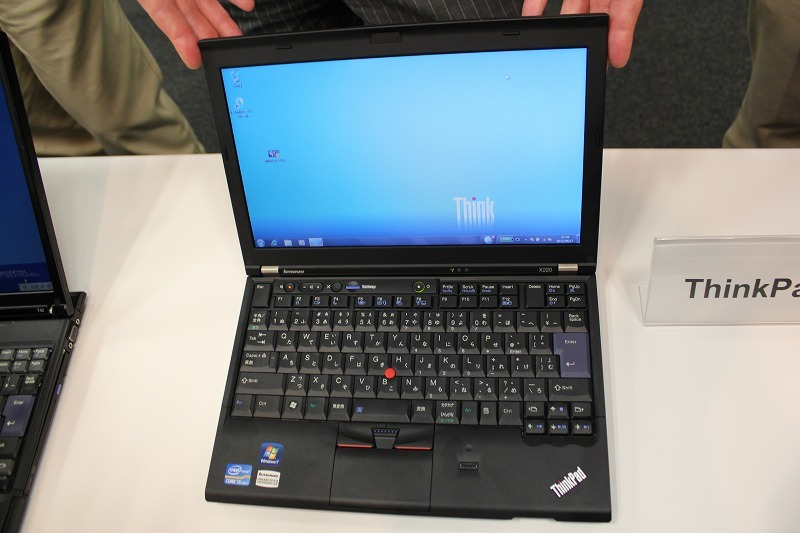 NEC特選街情報 NX-Station Blog-ThinkPad X220