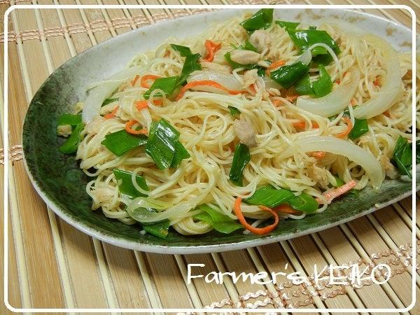 Farmer39;s KEIKO 農家の台所 , Cpicon 【農家のレシピ】ソーメンチャンプルー