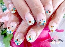 札幌市白石区の可愛い猫のいる自宅ネイルサロン☆CaramelMimiy Nail Room(キャラメルミミー ネイルルーム)☆-カラフルホログラデミックス