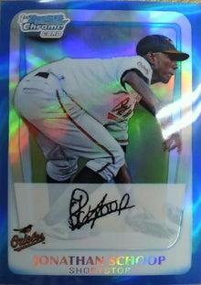 nash69のMLBトレーディングカード開封結果と野球観戦報告-2011-bowman-schoop