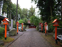 かっちゃんの日記-芳賀安住神社(2)