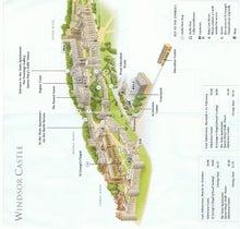 後藤英樹の三日坊主日記-ウインザー城地図