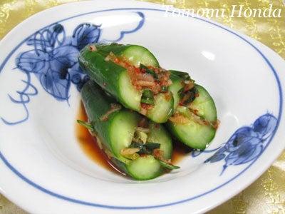 韓国料理サランヘヨ♪ I Love Korean Food-オイソバギ