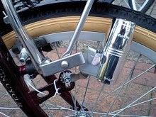 自転車の 自転車のカゴ取り付け : 分かりにくい写真なんですけど ...