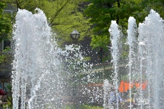 $全てのコスメは美に通ず-大通公園の噴水