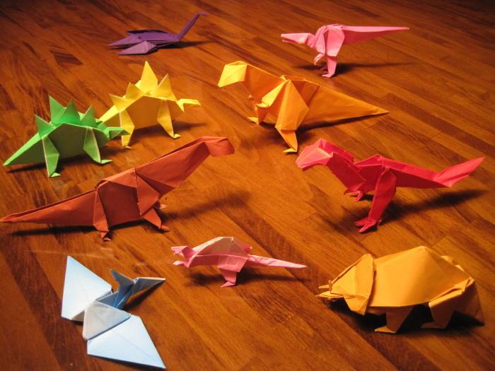 折り紙ジュラシックパーク