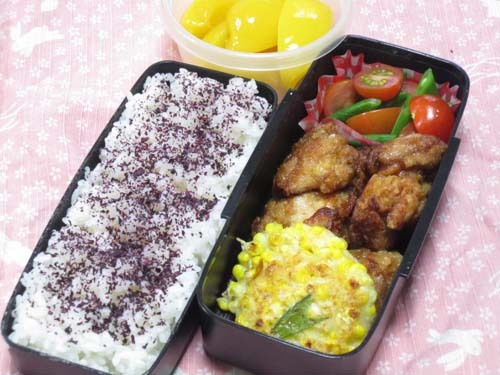 韓国料理サランヘヨ♪ I Love Korean Food-とうもろこしのチヂミ