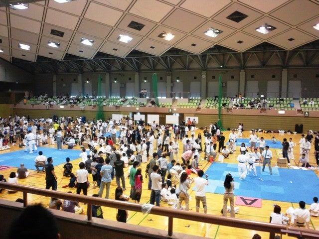空手道光誠会の宣伝部長のブログ-空手の試合
