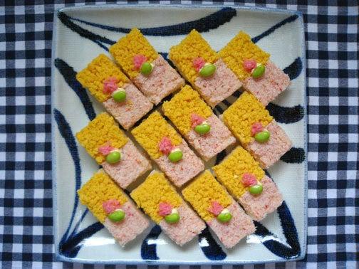 ひよこ食堂-かにの押し寿司03