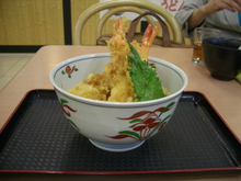 博多人ブログ-海老天丼2