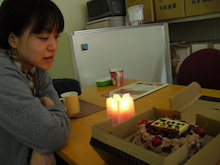 HII☆KALU SPACE ART -- スペースアーティスト 小野綾子のブログ -- Ayako Ono's Official Blog-Candle Service