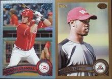 nash69のMLBトレーディングカード開封結果と野球観戦報告-2011-pro-debut-1