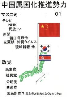 $日本人の進路-中国への属国化推進勢力