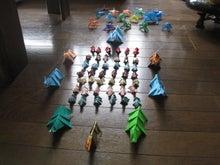 歩き人ふみの徒歩世界旅行 日本・台湾編-ソーマの折り紙