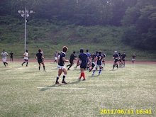 SUNDAI RUGBY MANAGER BLOG-合同練習
