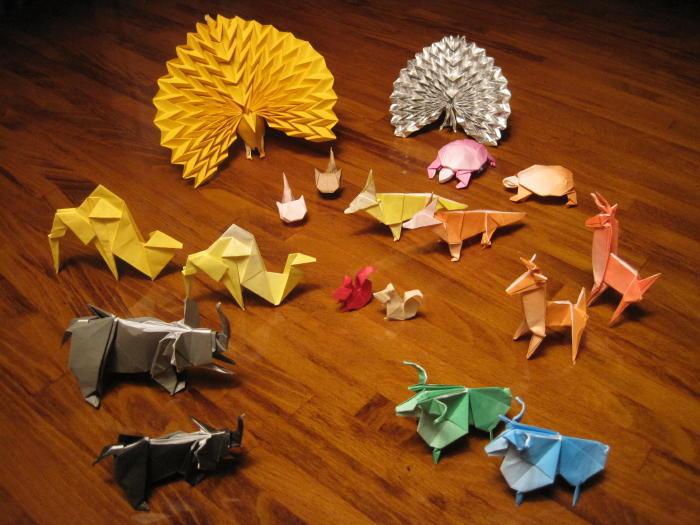 折り紙動物園