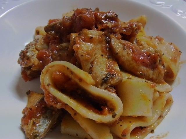 イタリア発 シンプル、幸せ、おいしい暮らしのレシピ-いわしのパスタ