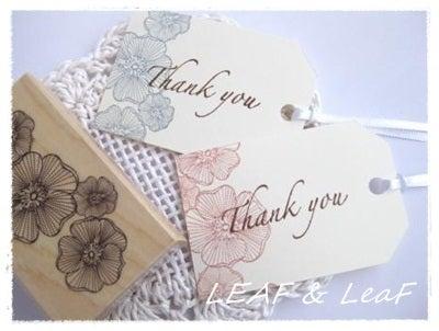 LEAF&LeaFの「手作りカード」な暮らし。