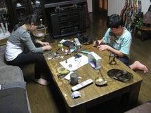 歩き人ふみの徒歩世界旅行 日本・台湾編-作品を作る子供達