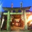 朝から櫛田神社で
