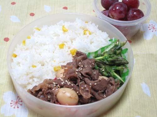 韓国料理サランヘヨ♪ I Love Korean Food-牛肉とうずらの卵のしょうゆ煮